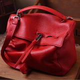 최신 최신유행 색깔 충돌 메신저 부대 연약한 가죽 핸드백 여자 운반물 어깨에 매는 가방 Emg5138