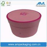 Бумажной коробка торта упаковки еды круглой прокатанная пробкой оптовая