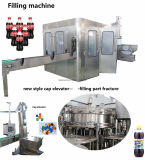 Auto CDD Carbonated Beverage 3in1 vullende het Afdekken Bottelende Apparatuur