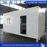 Casa modular prefabricada del envase de la venta caliente 2017 de Structurer de acero para la vida cómoda