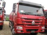 16tons Hyva 실린더를 가진 실제적인 차축 6X4 덤프 트럭