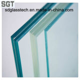 6 mm a 12 mm de vidrio laminado para cerca de construcción / piscina