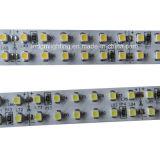 IP67 impermeabilizan la tira los 240LED/M de la cara 3528 LED del doble del tubo del silicio