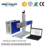 Máquina dinâmica da marcação do laser da fibra 3D da venda quente com preço da cabeça do Galvo