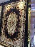 Пол и стена комнаты золотистого Polished ковра художника керамического кристаллический любящий