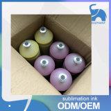 La vendita calda a buon mercato digiuna inchiostro al neon dell'inchiostro asciutto di sublimazione per il tessuto di cotone