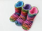 Ботинки снежка дома спальни зимы цветастые довольно крытые для ребенка людей Wonmen
