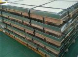Hecho en hoja de acero inoxidable aplicada con brocha petróleo del color No. 4 de China 201 Siliver con la película del PVC para la decoración interior