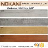 150X900mmのスリップ防止木製の一見の磁器のタイルの床のための無作法な床タイル