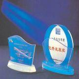 Médailles de récompense de trophée de sports d'acrylique avec la copie
