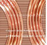 Tubo de cobre de la refrigeración