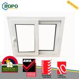 Окно PVC/UPVC сползая с двойной застеклять