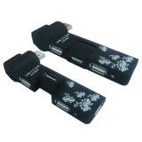 4つの港USBのハブ(WD-HB4009)