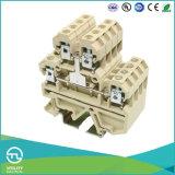 Tornillo Terminales de conexión de cables montados en riel DIN 2.5mm2 a 70mm2