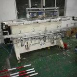 Longue machine d'impression d'écran en soie de Pôle
