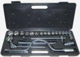 """l'utensile manuale professionale di manutenzione 25PCS ha impostato insieme dello zoccolo dell'azionamento di 1/2 """""""