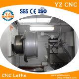 수평한 작풍 합금 바퀴 CNC 선반 기계로 가공