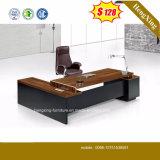 中国の安い価格MDFによって薄板にされるMFCの現代オフィス用家具(HX-5N014)