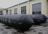 Sac à air de lancement de bateau en caoutchouc marin de rouleau pour le lancement de récipient