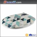 Populärer dekorativer Toiletten-Sitz mit schönem Muster