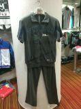 رجل حامل قفص [زيب-وب] طوق [هووديس] مع لهاث ملابس في رجل رياضات لباس دعوى [فو-8817]