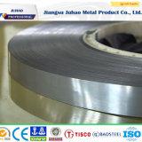 304 201 316 2b 0.1mm Stroken van de Band van het Roestvrij staal van de Dikte