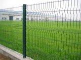 Paladin clôturant le poste de frontière de sécurité de la Chine