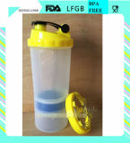 3 in 1 Foodgrade Spider Shaker Bottle con Storage per Protein