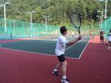 Suelo modular ambientalmente seguro del tenis, azulejos del tenis para de interior y al aire libre
