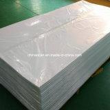 Il bianco Ivory ha impresso lo strato impermeabile del PVC di 0.8mm per l'armadio da cucina