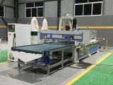 CNC, der Ausschnitt-Fräser-Maschine für Aluminiummöbel-Schranktüren schnitzt