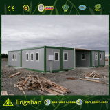 Living를 위한 결합된 Flat Pack Container House