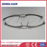 가관 안경알 Eyewear 티타늄 프레임을%s Qcw 150W 점용접 섬유 Laser 용접 기계
