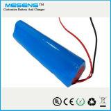 7.4V 6000mAh Taschenlampen-Batterie, Berufsfabrik