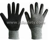 형성하십시오 뜨개질을 한 손목 (LCS3019B)를 가진 유액 일 장갑을 (승인되는 세륨)