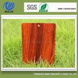 ドアのための完全な木製の効果の粉のコーティング