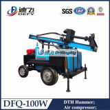 Dfq pneumatique forage Drilling Rig - High Efficiency à Granite Région