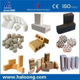 Imprensa de parafuso concreta refratária do tijolo das altas freqüências