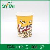 Изготовленный на заказ чашка попкорна логоса и держатели попкорна