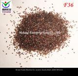 Het bruine Gesmolten Oxyde van het Aluminium (F20 F24 F30, F36 F46 F54 F60)