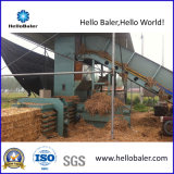 Presses hydrauliques horizontales automatiques de foin avec le convoyeur