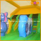 Bouncer di salto gonfiabile di tema del giardino zoologico per i capretti (AQ230-6)