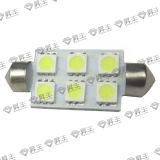 Luz 6*5050SMD (SF-SLED-DT10) de la placa de /License de la luz del adorno del coche LED