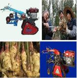 El jengibre de la máquina segador de la zanahoria del jengibre cosecha la máquina de la cultivación (WS10HP)