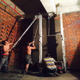 Автоматический цемент стены штукатуря цена машины с соколком гипсолита 110cm