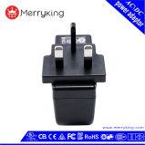 Gleichstrom-Ausgabe7.5v 3A Großbritannien 3 Pin-Stromversorgungen-Adapter