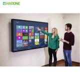 monitor elegante del panel de la pantalla de visualización del tacto de 4K LED LCD
