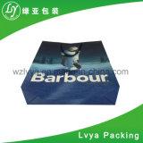 Bolso de compras modificado para requisitos particulares lujo del papel hecho a mano con la maneta