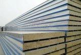 Corrugated пожаробезопасная панель сандвича крыши шерстей утеса