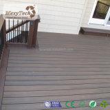 Decking al aire libre de la coextrusión de madera del compuesto WPC de la Anti-Termita